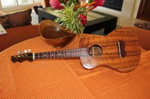 Two Beautiful Tenor Koa Ukulele~sold separately